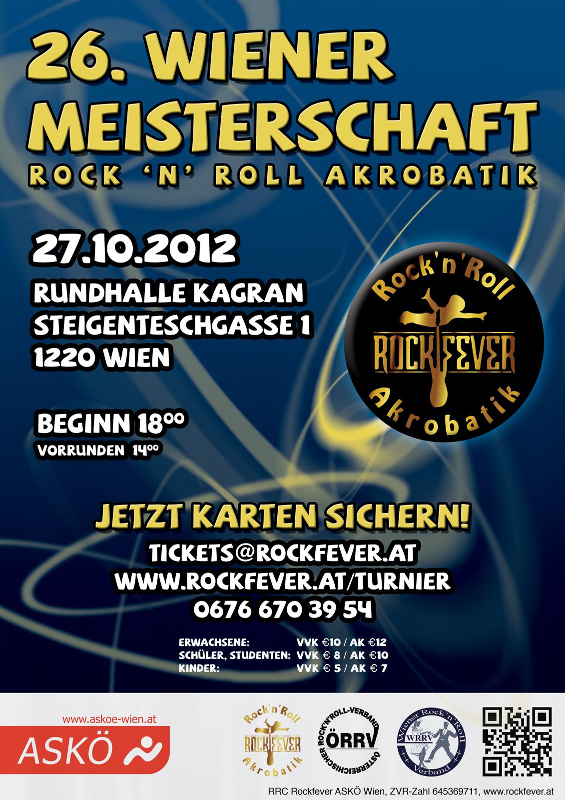 Flyer Wiener Meisterschaft 2012